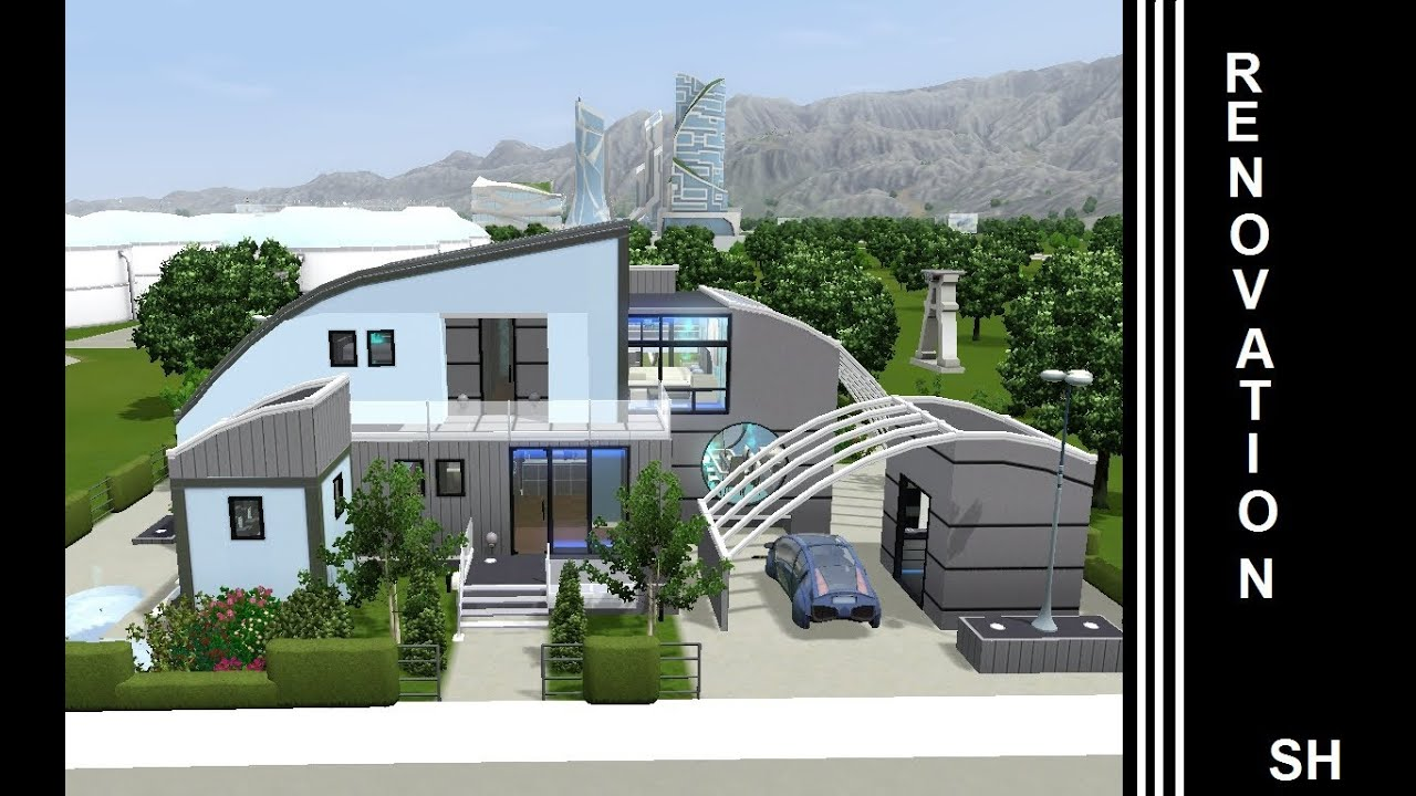 The Sims 3 Into The Future House Renovation 1st