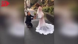 Ngọc Trinh chụp ảnh cưới cùng Vũ Khắc Tiệp ở Úc khiến fan xôn xao?
