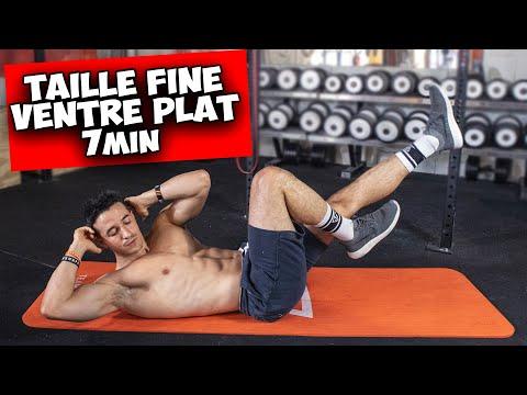 Taille fine et ventre plat exercice en 7min !