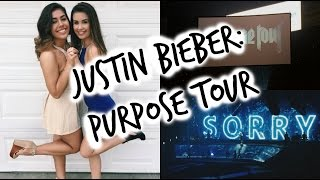 JUSTIN BIEBER: PURPOSE TOUR || Concert Vlog/Experience - Louisville, KY