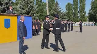 Працівники та курсанти ХНУВС отримали нагороди до Дня Національної поліції України