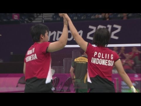 Badminton Women's Doubles Group Play Stage - Grp C - INA v RSA Replay - London 2012 Olympic Games