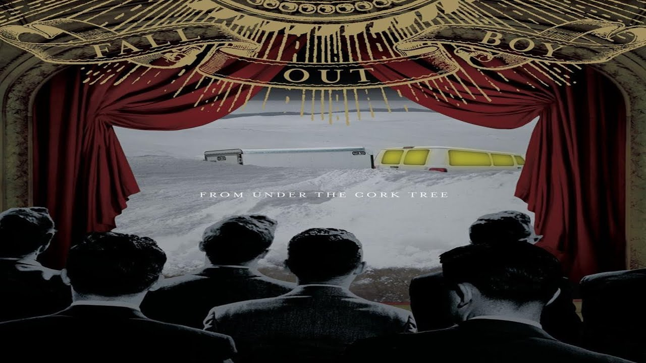 Viewing Gallery For - Fall Out Boy From Under The Cork Tree TracklistFrom Under The Cork Tree Album Cover