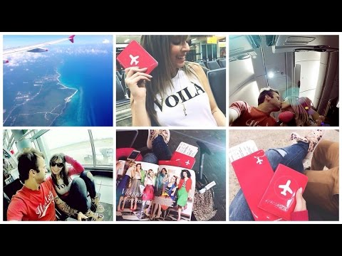 Vlog Aeroporto, mala perdida, mar do caribe, #DIA 1