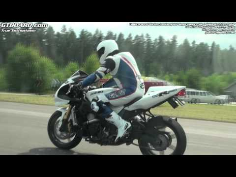 Underground Racing Gallardo 1500 RWHP vs Suzuki Hayabusa Turbo 350 RWHP