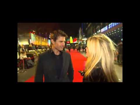 Jack Reacher london film premiere interview with Tom Cruise
