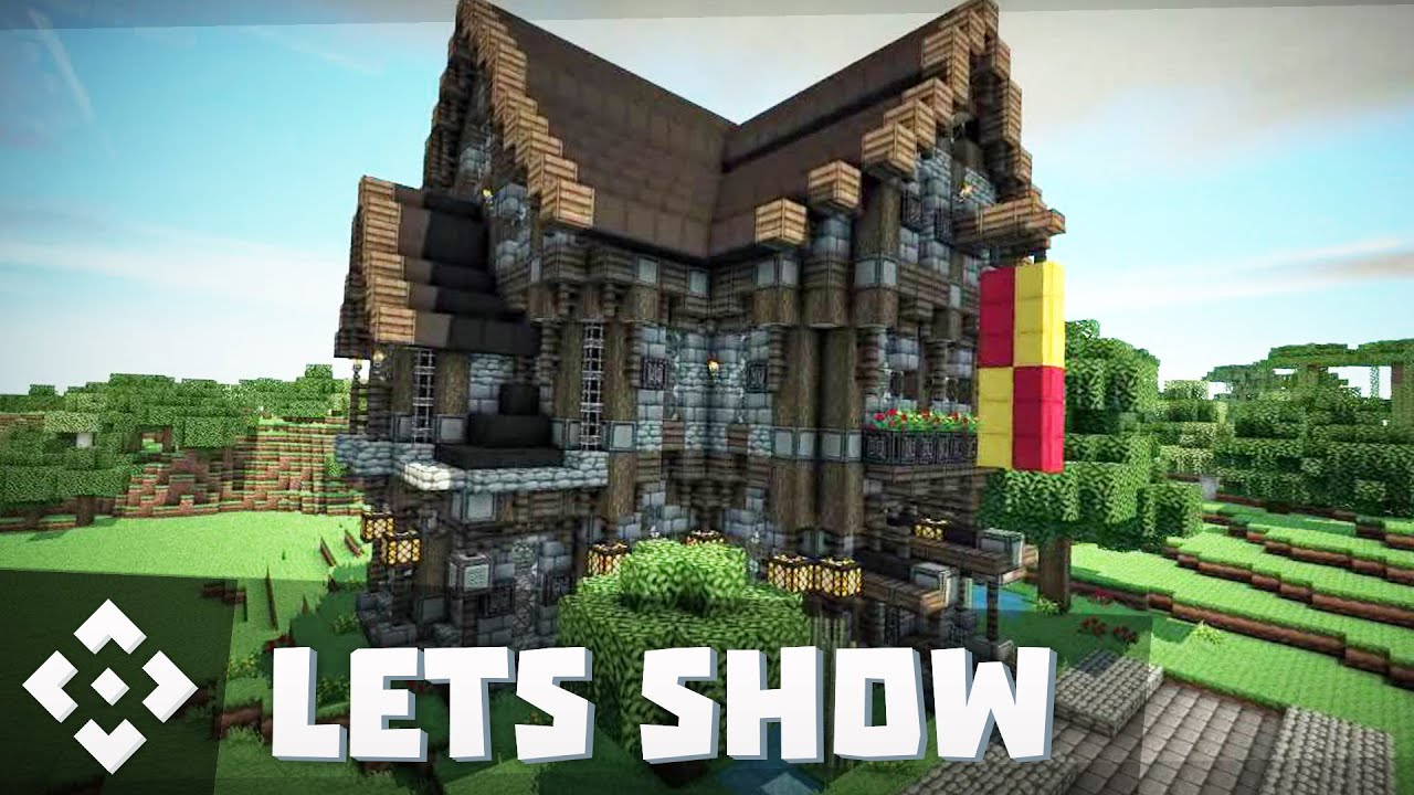 let 39 s shows minecraft mittelalter das erste haus hd german youtube. Black Bedroom Furniture Sets. Home Design Ideas