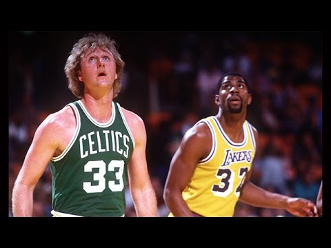 Larry Bird vs Magic Johnson 1982 Highlights, Celtics vs Lakers