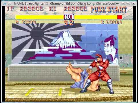 Street Fighter II 快打旋風2 降龍快打
