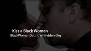 White Men Black Women Kissing