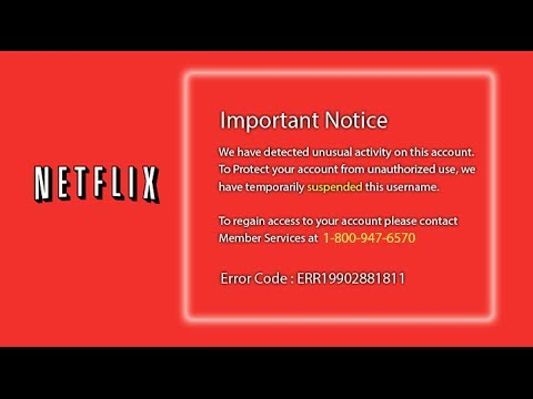 Netflix Tech Support Scam