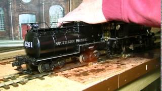 Explosion der Gaswolke bei einer Echtdampflokomotive
