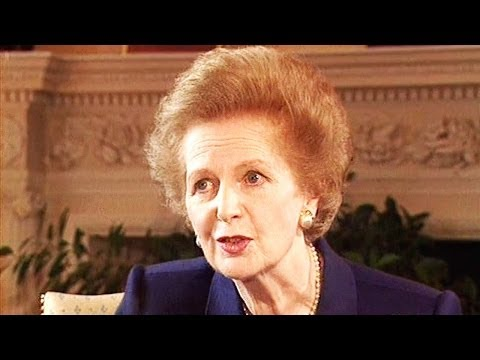 Margaret Thatcher interview - Stina Dabrowski