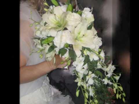 bouquets de mari es fleurs mariage youtube. Black Bedroom Furniture Sets. Home Design Ideas