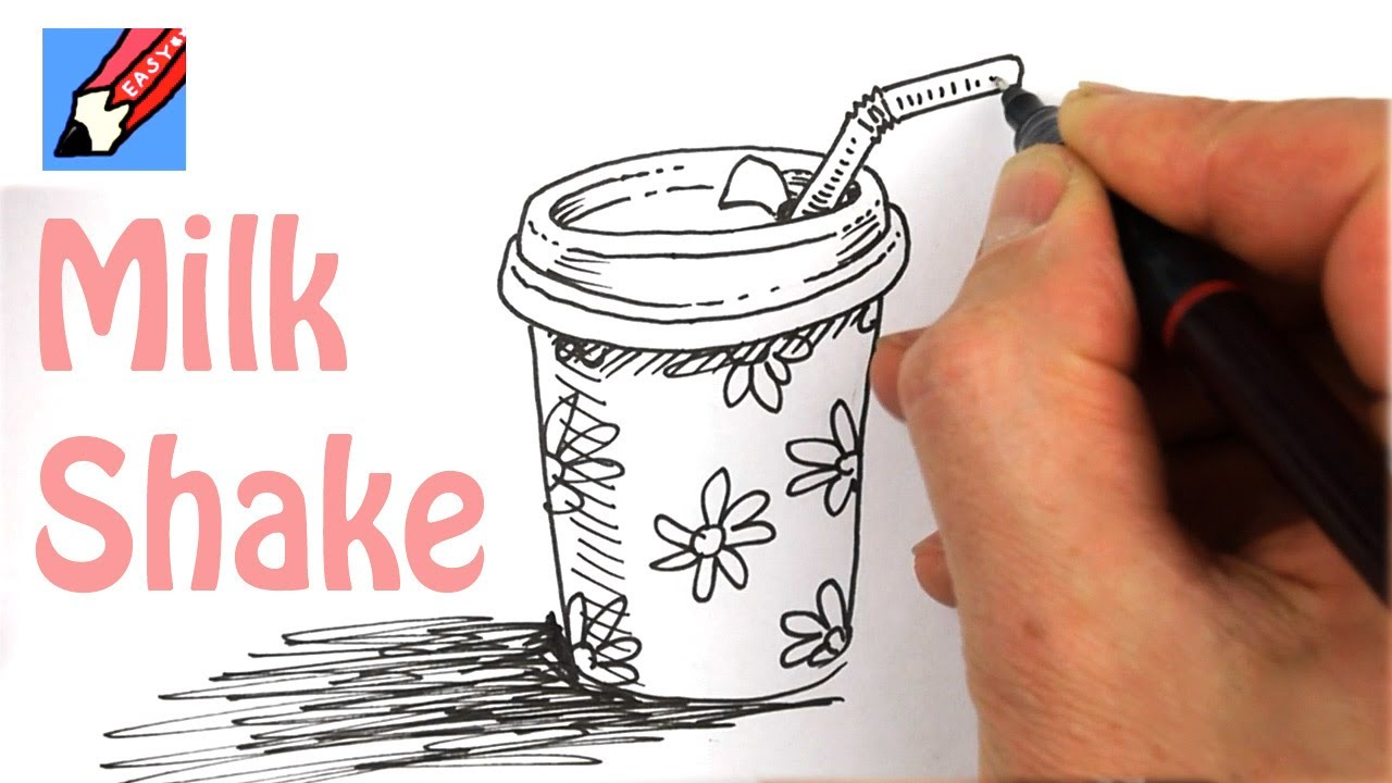 how to milk shake