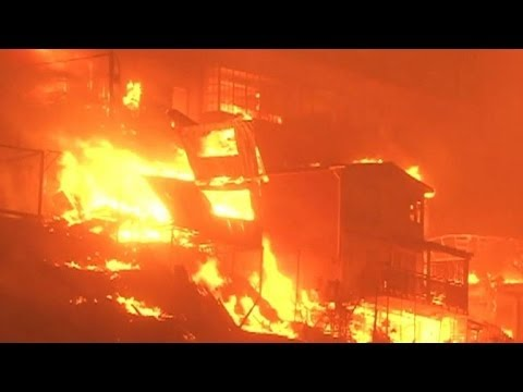 At least 11 dead in Chile fire: police