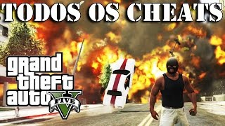 GTA 5: Cheats, Trapaças, Códigos, TUDO! (Português PT