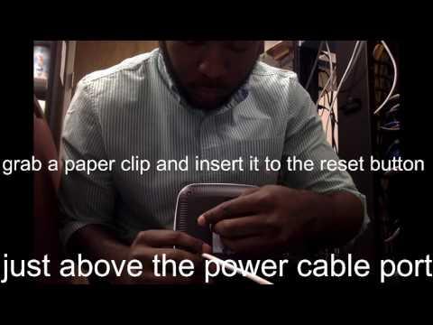 Aruba 205 access point reset tutorial