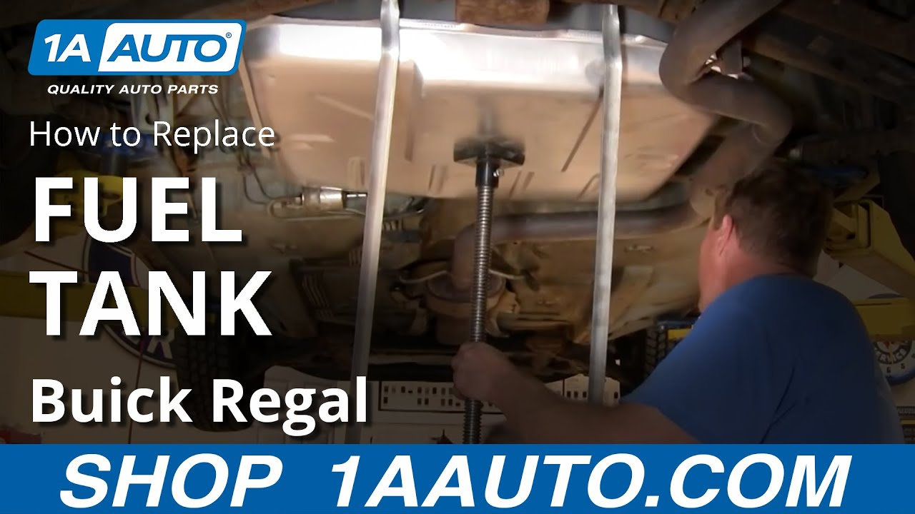 how to install replace gas fuel tank chevy lumina buick