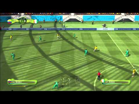 2014 FIFA World Cup Brazil Simulation - Match 21 - Colombia vs Ivory Coast Group Stage