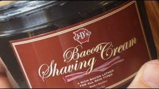 Bacon Shaving Cream Review