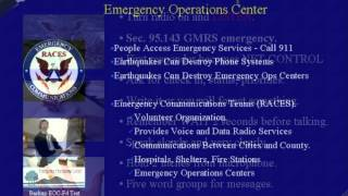 Emergency Communications For CERT, REACT, ARES/RACES, Red