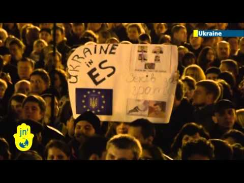 Ukrainian EU Protests: Thousands in Western Ukraine call for closer ties with Europe