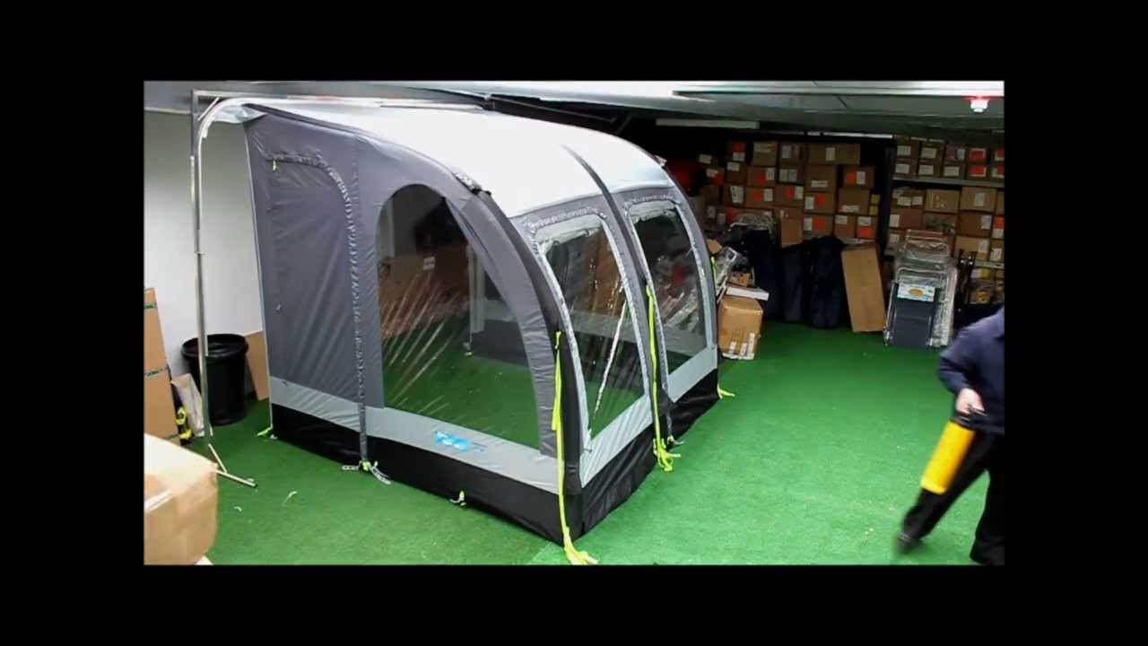 Kampa Air 260 Porch Awning Demonstration Video Hd Brian