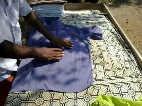 how to iron shirt