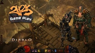 [Diablo III Beta - The Fall Of The Skeleton King - Gameplay]