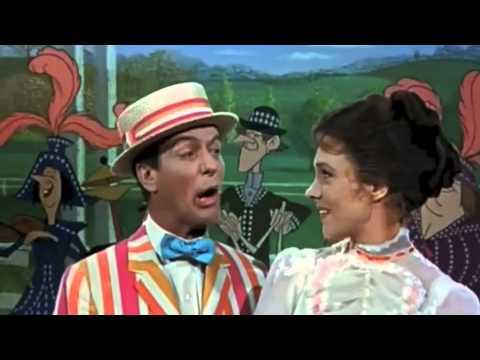 Supercalifragilísticoespialidoso canción de Mary Poppins