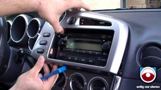 Radio Removal Toyota Matrix 2005 -2008 videos