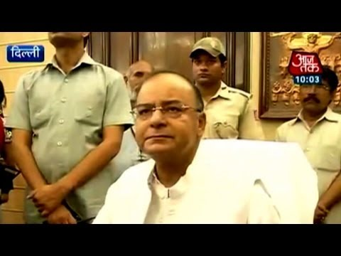 Arun Jaitley to handle Finance & Defence Ministry