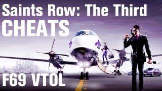 Saints Row 3 Cheats: Spawn F69 VTOL