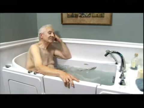 Walk In Tubs For Seniors Who S The Best Youtube