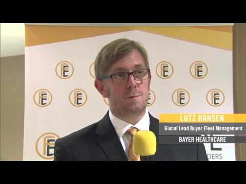 Fleet Europe Forum 2013: Lutz Hansen (Bayer) on Fleet Data Consolidation and Reporting