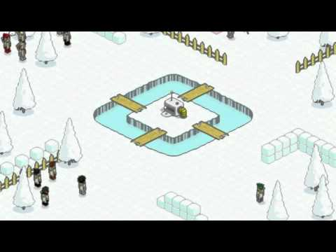 Habbo SNOWSTORM Returns 2011, I use to play this game also. It was so strategic.Good times, gooood times..