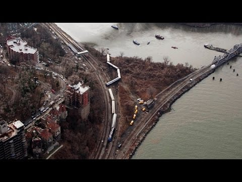 At least 4 dead, 60 hurt as Metro North passenger train derails in New York City