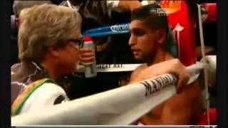 Amir Khan Vs Danny Garcia GETS KNOCKED OUT
