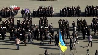 Triolan.Live - Приведення курсантів перших курсів до Присяги працівника поліції ХНУВС