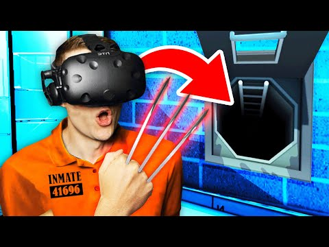 Creating SECRET ITEM To ESCAPE FUTURE PRISON (Prison Boss Virtual Reality Funny Gameplay)