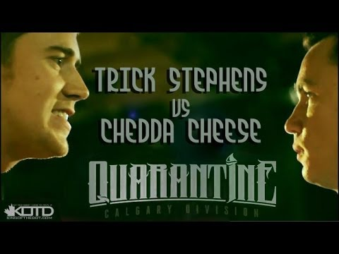 KOTD - Rap Battle - Chedda Cheese vs Trick Stephens (Tricky P)