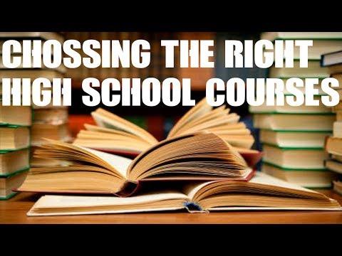 Zoology choosing subjects in high school