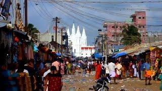 Velankanni Street Market Tamilnadu Nagapattinam