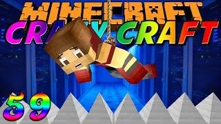 "Minecraft Crazy Craft 2.0 ""Obsidian Fortress!"" Ep. 59 W"