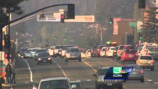 Lake Tahoe businesses impacted by smoke from nearby wildfire