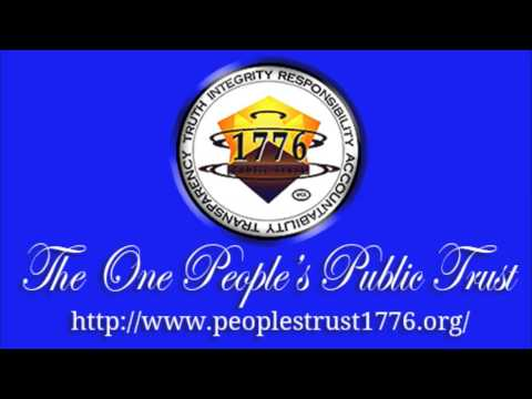 A conversation with Heather Tucci Trustee of The One People's Public Trust