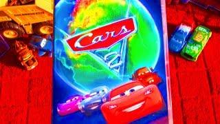 Cars 2 Full Movie DVD Unboxing Review Disney Pixar