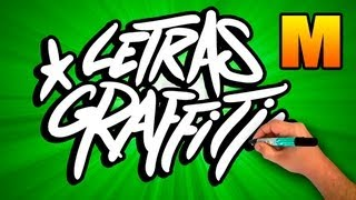 Graffiti Alphabet # Letter M