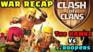 Clash Of Clans Clan War Recap TOP 500 RANKED CLAN